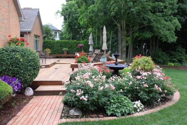 decking garden design ideas Relaxing Deck - Traditional - Landscape - Grand Rapids