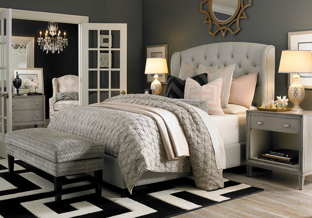 Image Of Paris Themed Decor For Bedroom Design