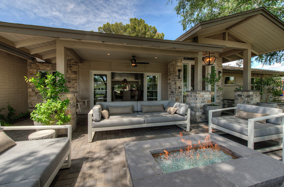Arcadia home - Transitional - Patio - Phoenix - by Realm ... on Arcadia Backyard Designs id=27744