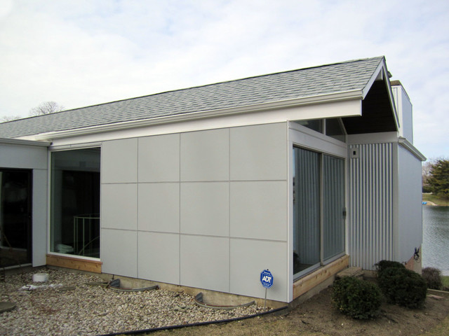 Modern/Contemporary Home, Park Ridge, IL Marvin Ultimate ... on Contemporary Siding  id=32650