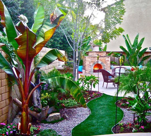 Small spaces, Big Ideas on Tropical Small Backyard Ideas id=21718