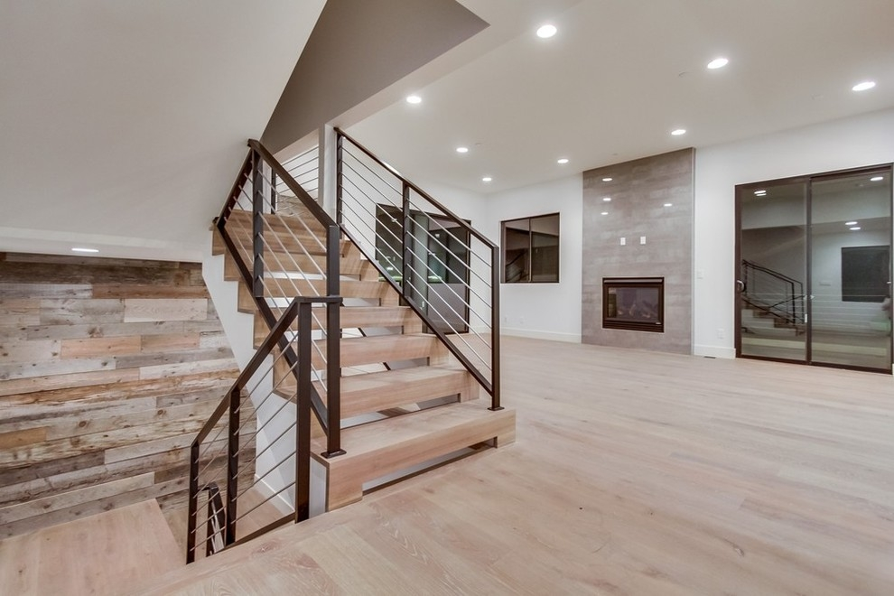 708 2Nd Street Hermosa Beach Ca 90254 Contemporary Staircase | Spiral Staircase Los Angeles | Loft | Handrail | 42 Inch | Romantic | Double Spiral