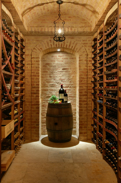 Wine Cellars In Stone Mediterranean Wine Cellar New