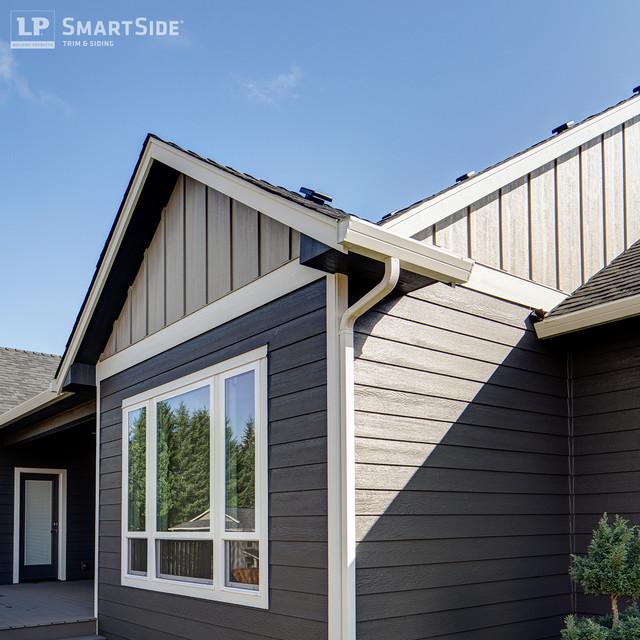 LP SmartSide Panel Siding 1 Rustic Exterior
