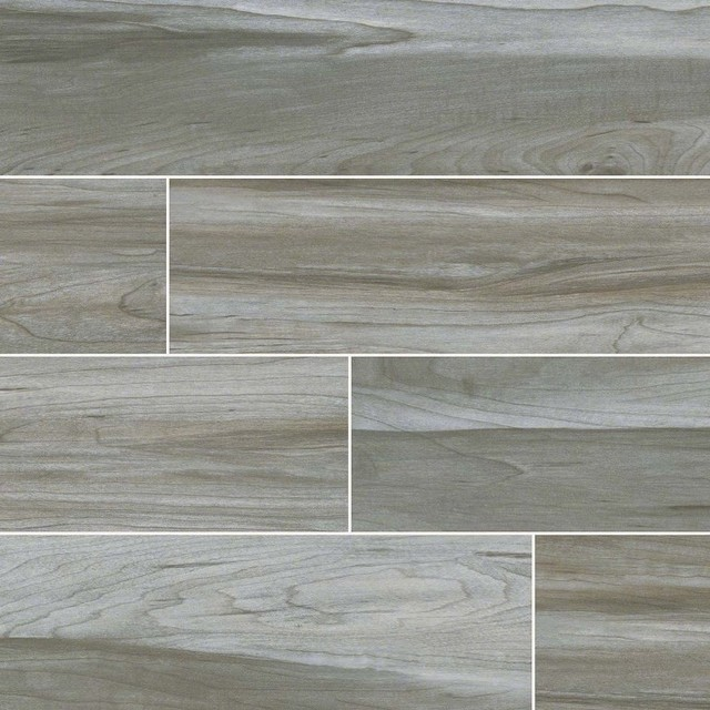 Carolina Timber Gray Ceramic Wood Look Tile Traditional Wall And Floor Tile By Wall Tile