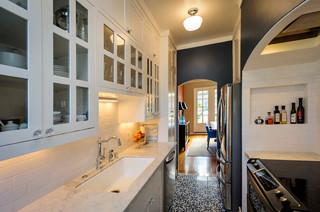 Eaton Revival mediterranean-kitchen