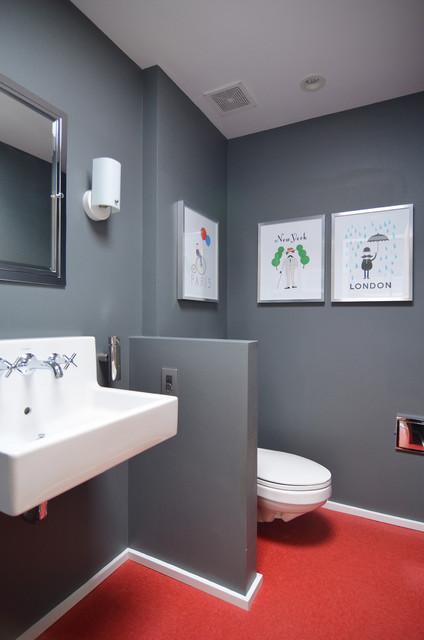 Dallas TX Stolp Midcentury Bathroom Dallas By Sarah Greenman