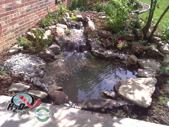 KOI Pond, Backyard Pond & Small Pond Ideas for your ... on Backyard Koi Pond Designs  id=89283