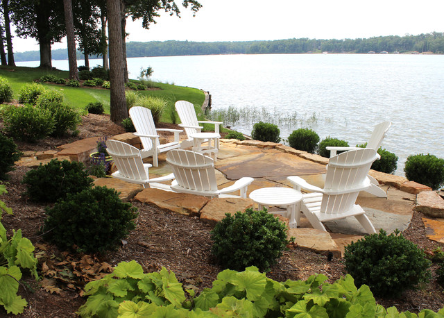 Water's edge - Beach Style - Patio - DC Metro - by West ... on Lakefront Patio Ideas id=74098