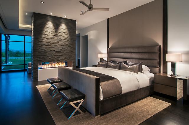 Minimalist Mountainside - Contemporary - Bedroom - Phoenix ... on Minimalist Modern Bedroom Design  id=97948