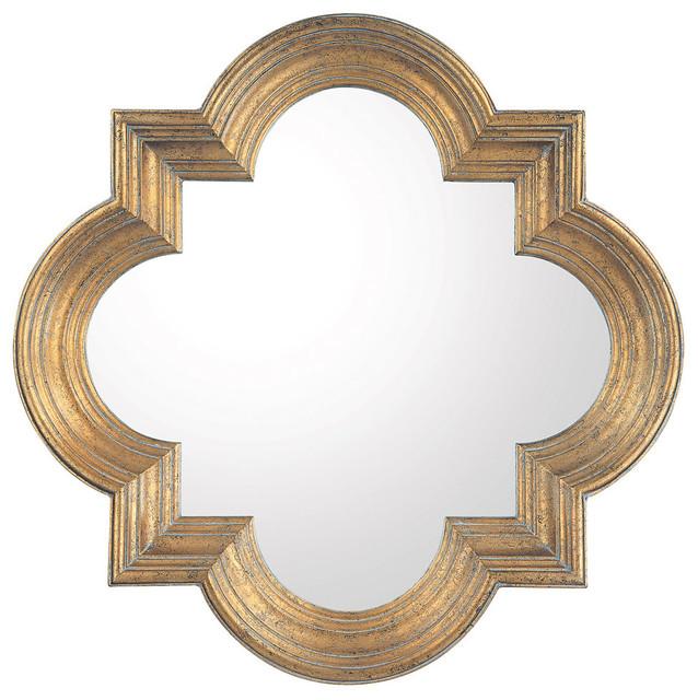 Capital Lighting Antique Gold Mirror - M282882 mediterranean-wall-mirrors