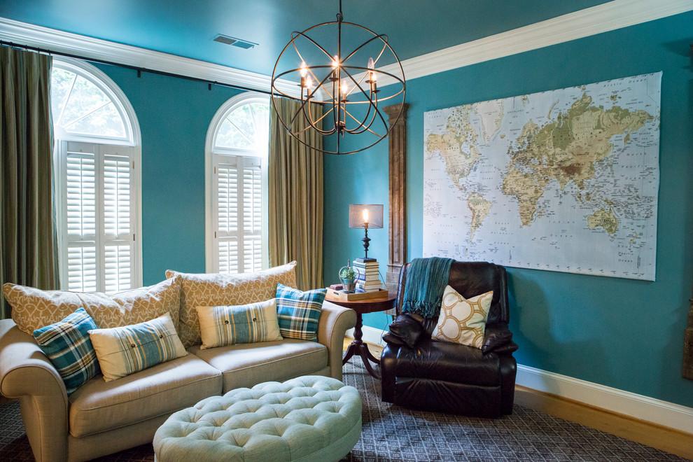 Fun Family Home - Modern - Living Room - Atlanta - by Kat ... on Fun Living Room Ideas  id=37674