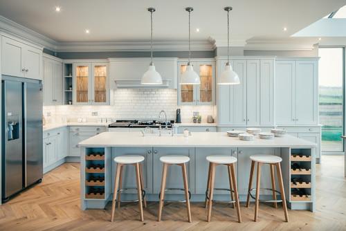 osez le bleu dans la cuisine