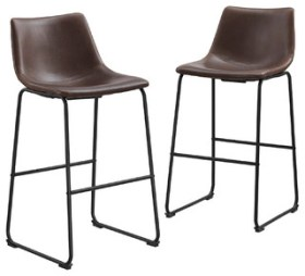 Bentley Bar Stools, Set of 2, Brown