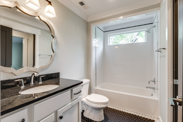 Hillsboro Village Modern Bungalow Craftsman Bathroom