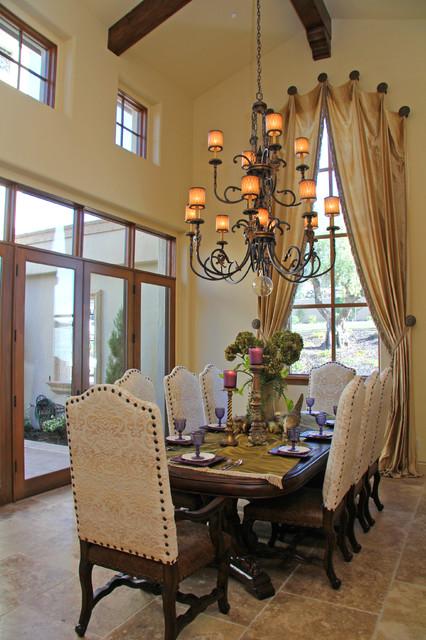 Berkwood Residential Mediterranean Dining Room