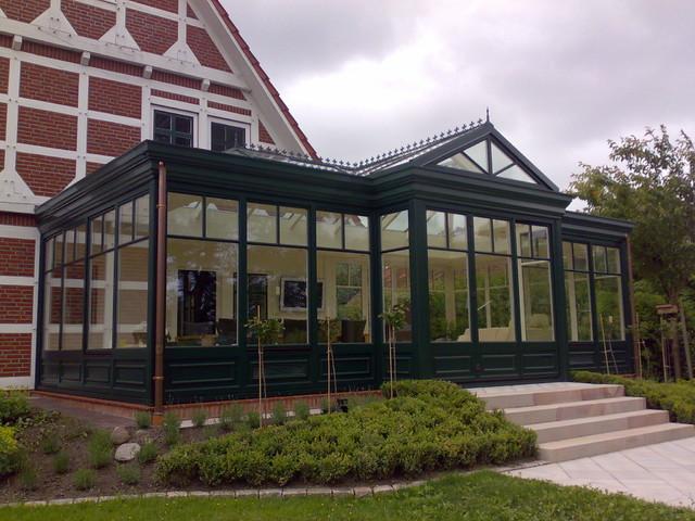 Viktorianischer Orangerie Wintergarten Victorien