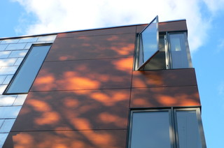 wood composite panel rainscreen siding - Modern - Exterior ... on Siding Modern  id=33126