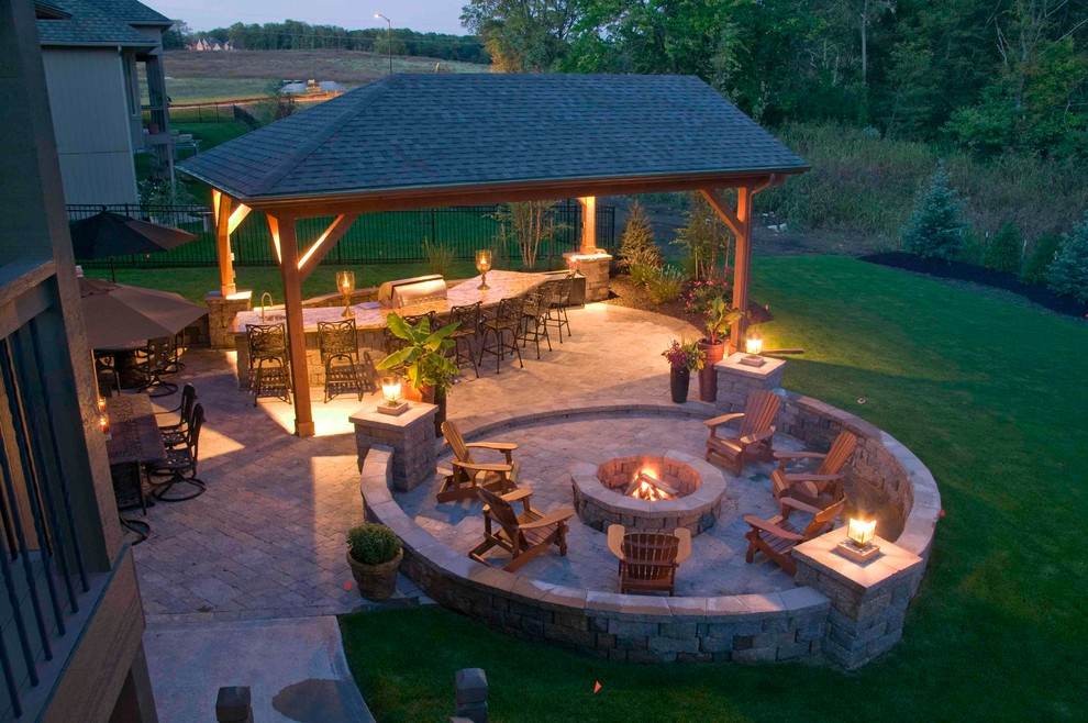 Ultimate in outdoor living and entertainment - Traditional ... on Outdoor Living And Patio id=56677