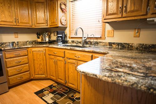 Top 13 Magma Gold Granite Kitchen Countertop Design