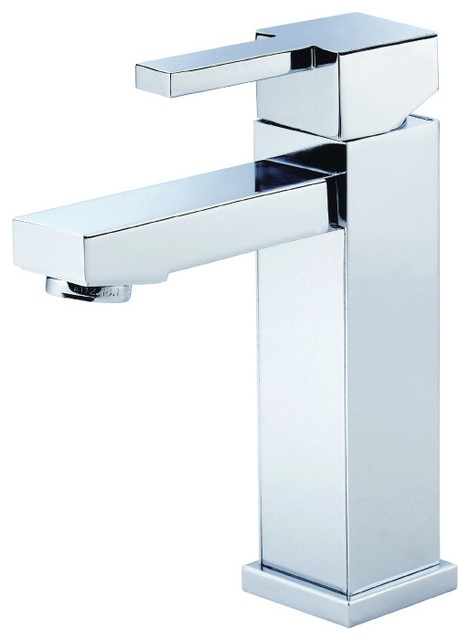 danze d222533 1 hole bathroom faucet from the reef collection chrome