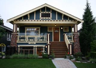 Heritage Kitchen craftsman-exterior
