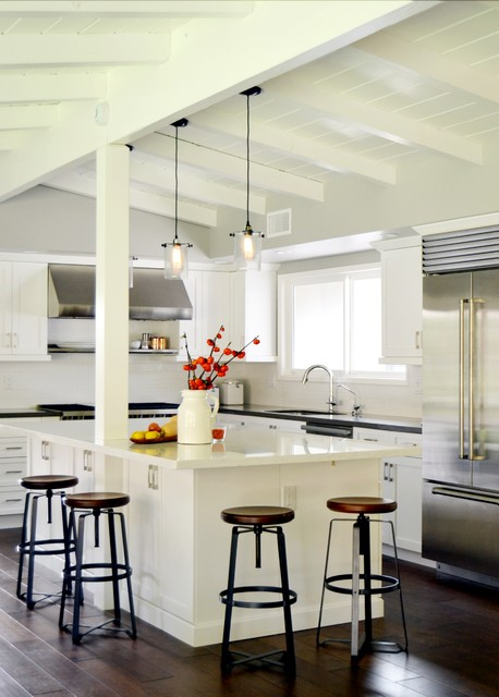 Modern L Shaped Kitchen Island