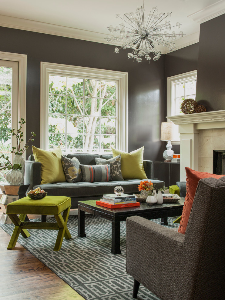 Funky and Fun Living Room - Transitional - Living Room ... on Fun Living Room Ideas  id=84546