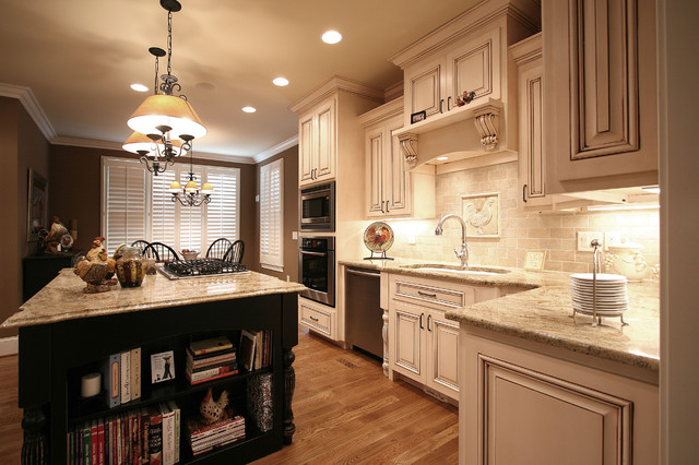 French Country Traditional Kitchen Charlotte By