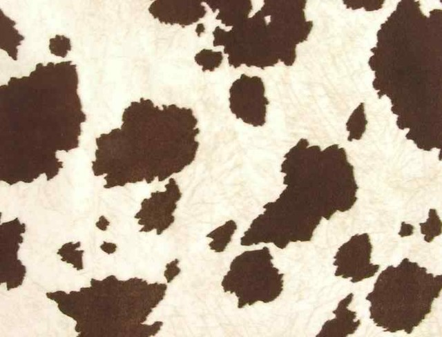 Faux Cowhide Upholstery Fabric BrownWhite Rustic Upholstery Fabric By All About The Home