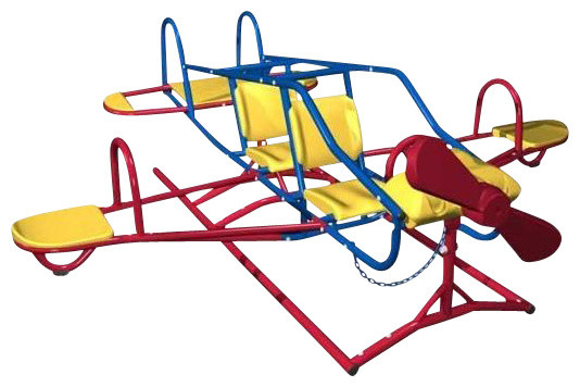 Ace Flyer Airplane Dual Action Teeter Totter