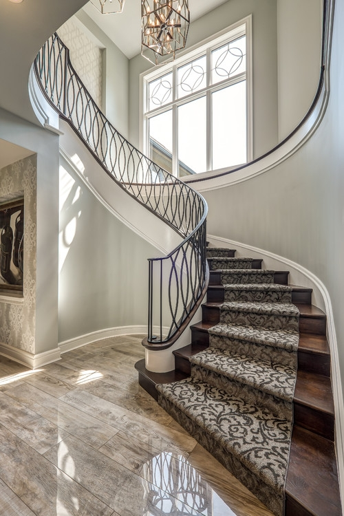 2020 Carpet Trends 21 Eye Catching Carpet Ideas Flooring Inc | Carpet For Bedrooms And Stairs | Grey | Carpet Runner Ideas | Stair Railing | Rugs | Staircase Design