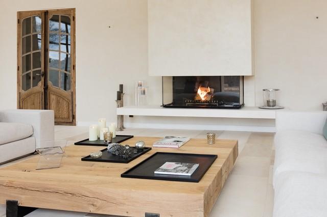 Chemine Foyer Contemporaine Amp Design Avec Vitre