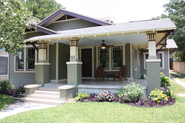 Craftsman Bungalow Renovation Traditional Exterior San Diego By Green Button Homes