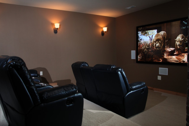 Paint Ideas For Home Theater Room
