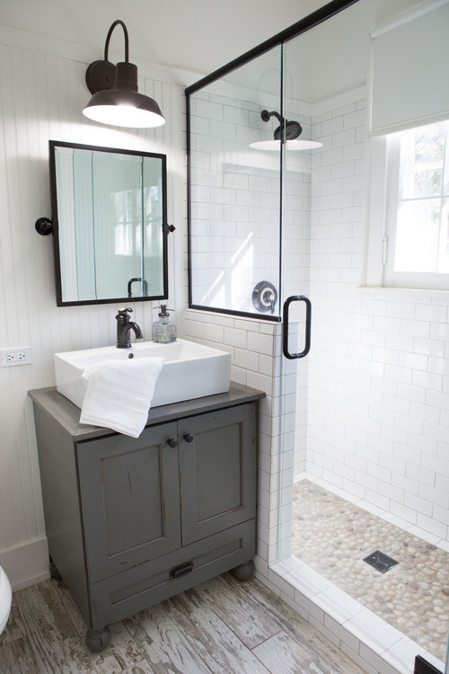 Image Result For Farmhouse Bathroom Ideas