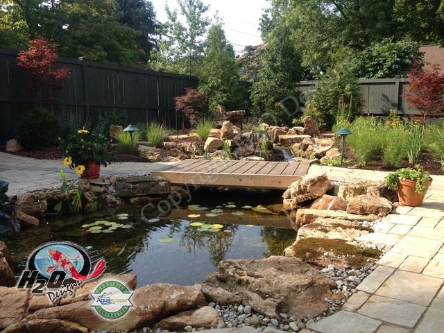 KOI Pond, Backyard Pond & Small Pond Ideas for your ... on Backyard Koi Pond Designs  id=60142