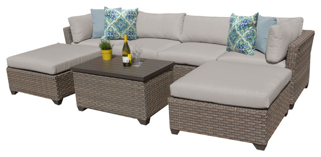 monterey 7 piece outdoor wicker patio furniture set 07b