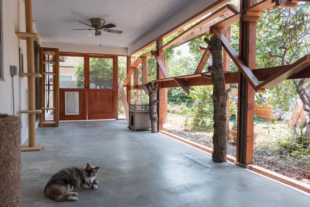 Arcadia Catio - Rustic - Patio - Los Angeles - by Finesse ... on Arcadia Backyard Designs id=59920