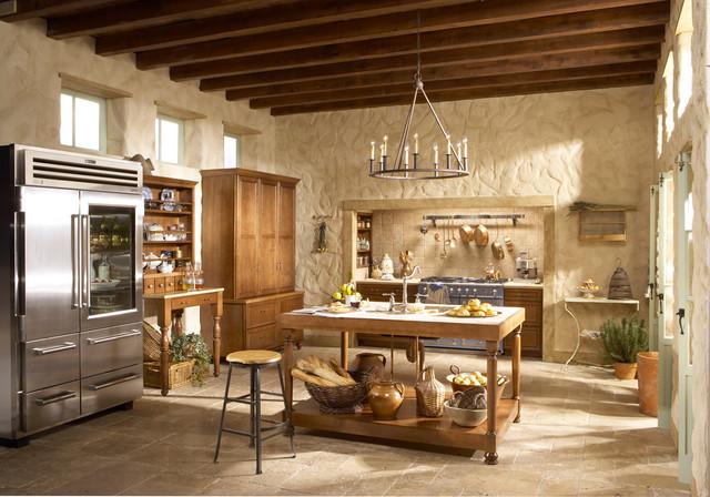 French Barn Kitchen Farmhouse Kitchen Minneapolis