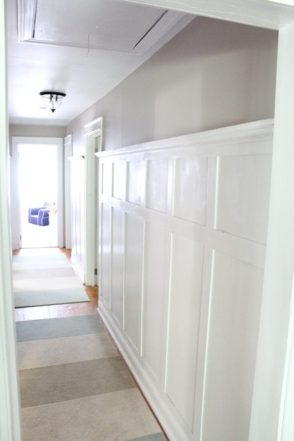 Hallway Paneling Traditional Hall New York By