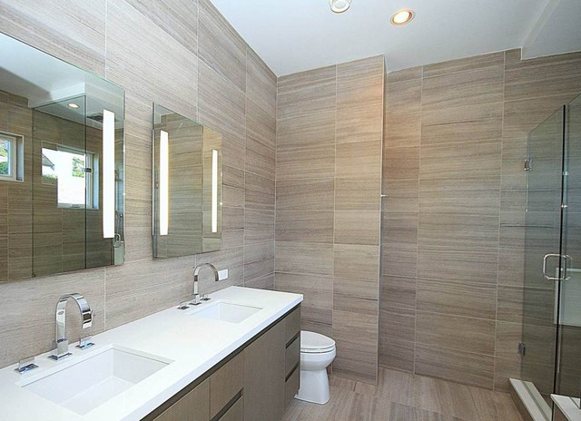 Point Grey spec house - Modern - Bathroom - Vancouver - by ...