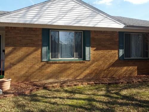 Need Trim Color For Orange Brick House