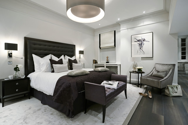 The Hampstead Apartment contemporary-bedroom