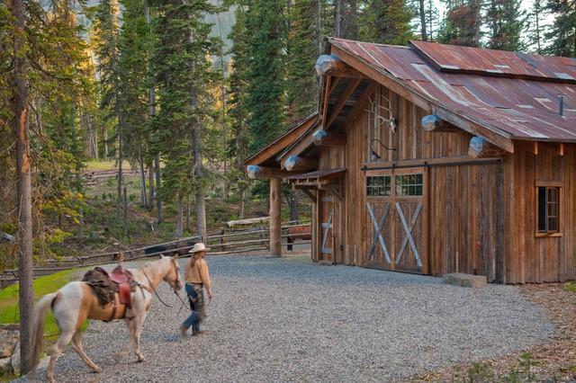 Barn Rustic Shed Denver By Highline Partners Ltd