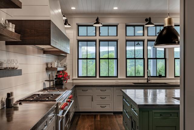 Modern Farmhouse-Upstate farmhouse-kitchen
