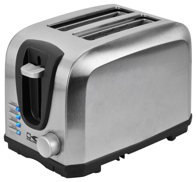 Stainless Steel Toaster Contemporary Toasters By Kalorik
