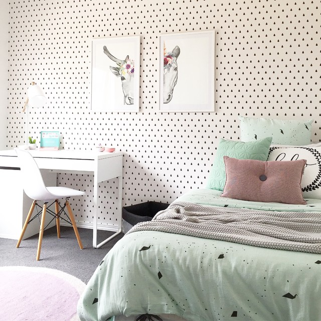 Kids Rooms Climbing Walls And Contemporary Schemes: Unicorn Bedrooms Your Child Will Fall In Love With