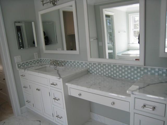 marble vanity countertop - traditional - bathroom - philadelphia