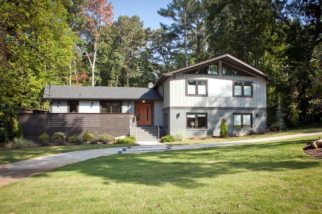 Mid Century Modern Atlanta Midcentury Exterior Atlanta